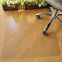 Gereton 1,5 mm dicke PVC-Stuhlmatte für Teppichboden, Eco-Fußbodenschutz-Matte für hochflorige Teppiche rutschfeste, verschleißfeste, transparente Stuhlkissen