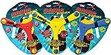 Jumbo 18283 - Boomerangs Wicked Booma Boomerang 15-20 m Met Geluid, Mehrfarbig