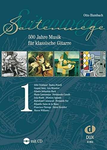 Saitenwege 1 : 500 Jahre Musik Fur Klassische Gitarre +CD par Otto Umbach