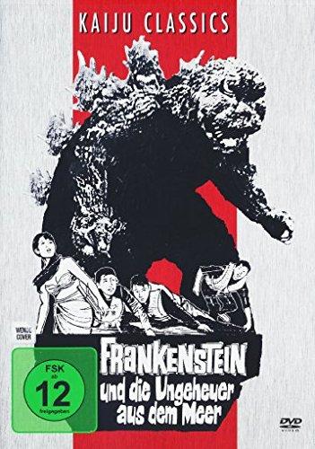 Kostüm Berühmte Paar - Godzilla - Frankenstein und die Ungeheuer aus dem Meer [ Kaiju Classics ] Digital remastered