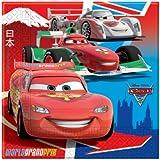 Cars 2 Partido servilletas (Pack de 20)