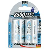 ANSMANN maxE Mono D Akku 8500mAh vorgeladene ready2use NiMH Power