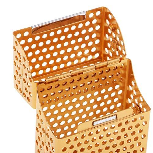 juler Aluminium Zigarettenetui Tabakbox Zigarettenetui Zigarettenetui für Zigarettenaufbewahrung Behälter Rauchen Zubehör orange