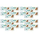24x Pampers SENSITIVE BABY WIPES Handy Travel Size Convenience 12 WIPES PER PACK