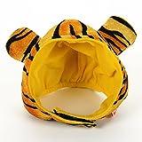 jaune Steller chapeau drôle Pet Creative tissu Coiffures ( taille : L )...