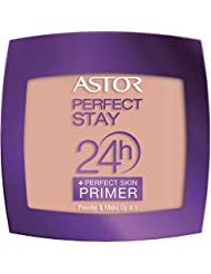 ASTOR Perfect Stay 24h Powder Plus Perfect Skin Primer, 302 Deep beige, 1er Pack (1 x 7 g)