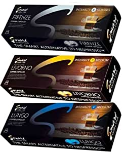 40 x Compatible Capsules for Nespresso Machines (4 Blend)