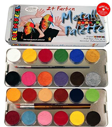 palette mit 3 Profipinsel, 24 Farben ()