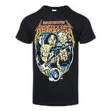 Camiseta Filimore Poster de manga corta de Metallica (Negro)