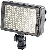Somikon LED Fotoleuchte: Foto- und Videoleuchte FVL-720.d mit 204 LEDs, 3.200-5.500 K (Fotolampe)