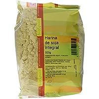 Biospirit Harina de Soja Integral de Cultivo Ecológico - 6 Paquetes de 500 gr - Total