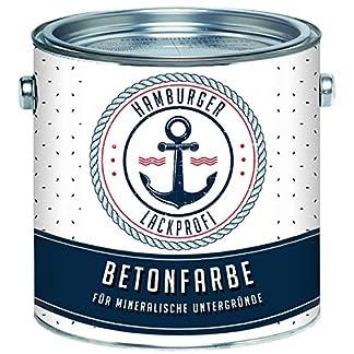 Pintura para hormigón en color gris plata RAL 7001 gris para revestimiento de suelo revestimiento de hormigón, pintura para fachadas // pintura profesional Hamburgo, Gris