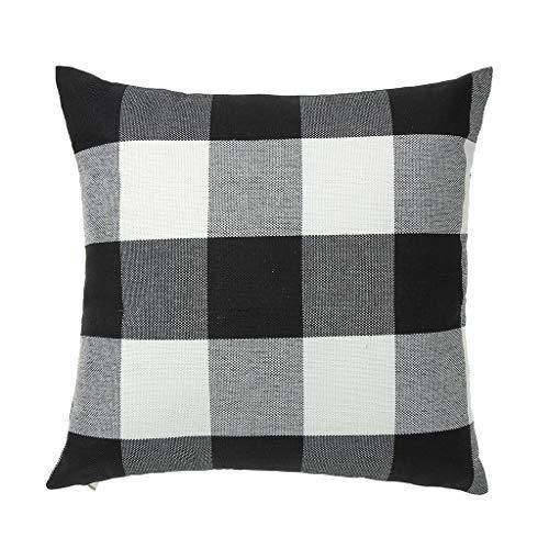 ZEELIY Kissenbezug 45 x 45 cm Dekorativ Einfache Kissenbezug Geometrische Muster 45 x 45cm Sofa Büro Dekor Kissenhülle Schlafzimmer Dekoration