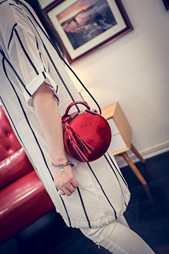 Jothin - Borse a spalla donna da ragazza' Red