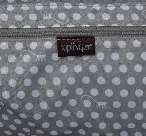 Kipling ELISE K15060657, Damen Schultertaschen 44x27x18 cm (B x H x T) Rot (Wine Red Lacq)