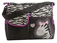 Mayfield Plaza Multifunctional Mummy Handbag Baby Diaper Nappy Changing Bag Pink Zebra
