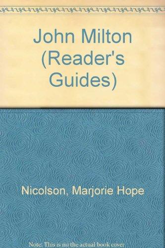 John Milton (Reader's Guides)