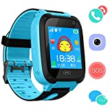 Kids Phone Smart Watch for 3-12 Year Boys Girls GPS/LBS Tracker Touch Screen