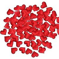 handwerk warfen rosenblätter hochzeits party liebe herz gepolstertem stoff