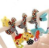 Beauty DIY Mart Jouet Spiral et Suspendu Autour du lit ou de la Poussette pour Les bébés, Jouet en Peluche Qui avec l'image Mignon pour Les Petits Enfants - Star