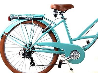 Adriatica Fahrrad Damen Cruiser Räder 26? mit shifter Shimano 7 Geschwindigkeit/blau türkis