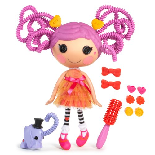 6736E4C - Lalaloopsy Silly Hair Puppe- Peanut Big Top ()