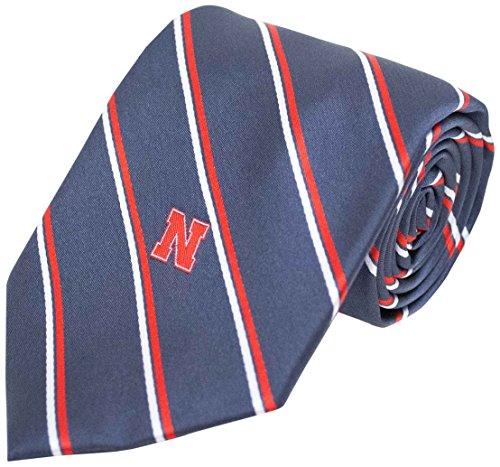 NCAA Nebraska Cornhuskers gestreift Krawatte, One size, anthrazit