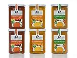 Ralf Moll Fastensuppen | (6x380ml) Bio-Suppen im Glas | Löffel Dich leicht - Entschlacken Detox Abnehmen mit Intervallfasten Fastenkur Suppenfasten Souping