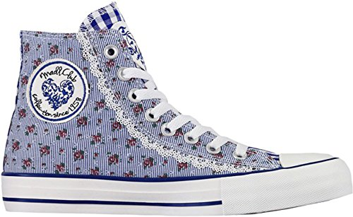Krüger Madl, Sneaker donna Blu blu Blu (blu)