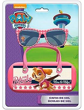 Paw Patrol–Gafas de sol con funda Metal Skye