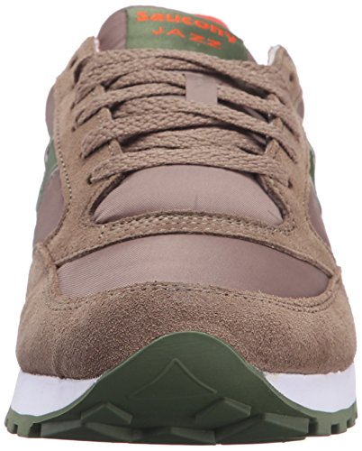 Saucony Jazz Original Herren Sneakers Brown Green