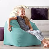 Hi-Rest Bean Bag Chair - Extra Large Bean Bag Chairs for Kids and Teens - Indoor Outdoor Childrens Bean Bags - Big Kids BeanBag Seats (Duck Egg, Large)