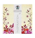 Ursus 70300094 - Premium Glitter Scrapbook paper Passion, ca. 30,5 x 30,5 cm, 5 Blatt, Motiv 94