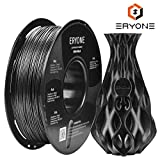 Filament PLA 1.75mm Sparky Black, Glitter Black, ERYONE PLA Filament For 3D Printer and 3D Pen, 1KG, 1 Spool