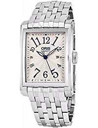 Oris Herren-Armbanduhr Armband Edelstahl Schweizer Automatik 56176574061MB