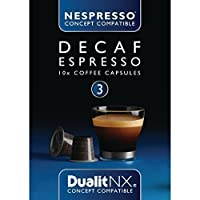 Dualit NX Capsules Decaf Espresso 15704 Pack quantity: 50