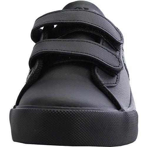 Polo Ralph Lauren Harrison Ez Junior Triple Black Synthetic School Shoes Triple Black