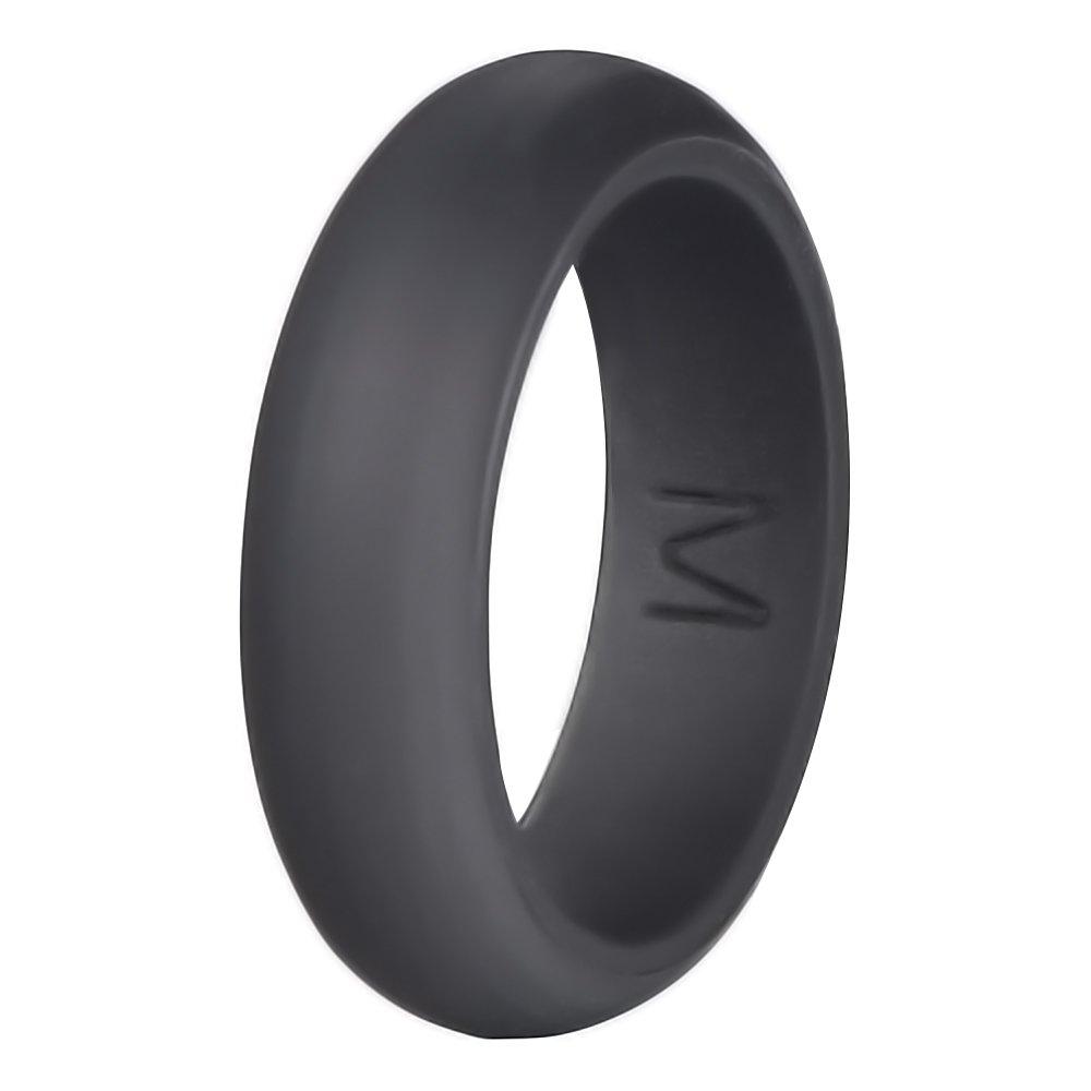 Silicone Wedding Ring, Mudder Women's Wedding Band Ring