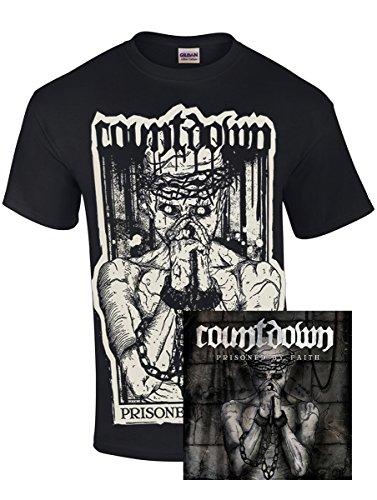 Oldtime Hardcore Clothing -  T-shirt - Basic - Collo a U  - Uomo nero Medium