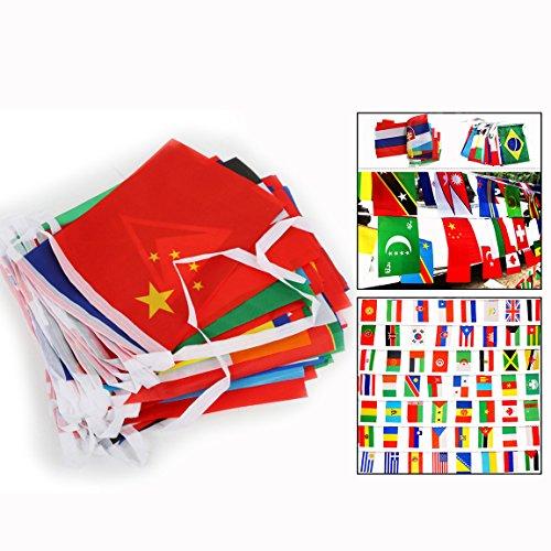 Länder Fahnen Flaggen Perfekte Dekorationen für Bar, Party, Festival ()