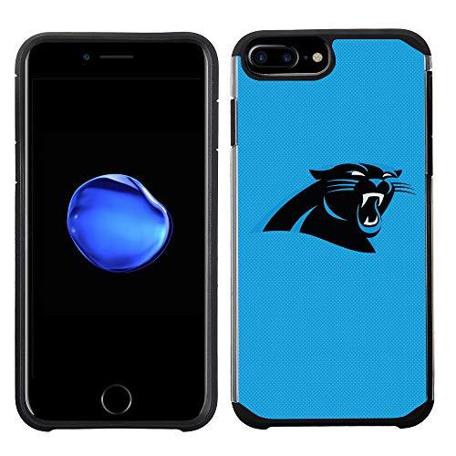 Prime Marken Gruppe Handy Fall für Apple iPhone 8Plus/iPhone 7Plus/iPhone 6S Plus/iPhone 6Plus-NFL Lizenzprodukt Carolina Panthers Strukturierte Farbe (Farben Nfl Panthers)