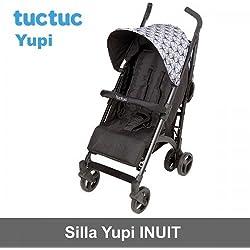 Tuc Tuc Yupi Weekend Inuit - Silla de paseo, color negro / gris