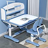 StarAndDaisy Smart Kids Multifunctional Study Table and Chair with an Option of LED Lamp and Book Storage Shelf *Assembly Vid