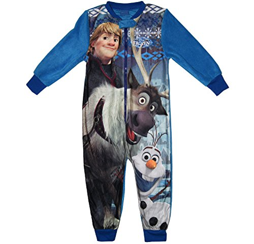 Disney frozen in micropile pigiama tuta intera: boys 5-6 anni