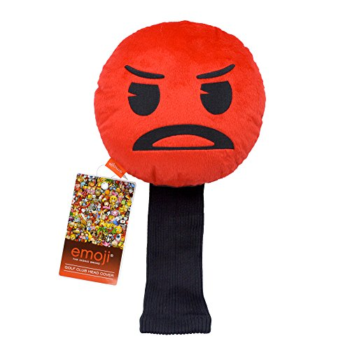 Emoji-Angry Neuheit Golf Head Cover – Rot