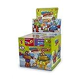 Superzings - Serie 3 - Caja con colección completa de 8 robots y 8 figuras