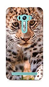 Amez designer printed 3d premium high quality back case cover for Asus Zenfone Selfie (Jaguar wild nature)