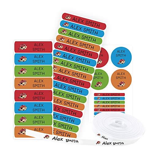 Pack 155 etiquetas personalizadas marcar