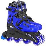 Elektra In Line Skates (Medium, Blue)