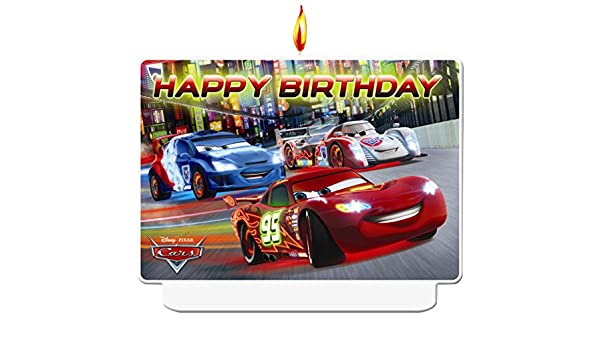 CANDELE CARS 8 PZ BANNER CARS ASSORTITO